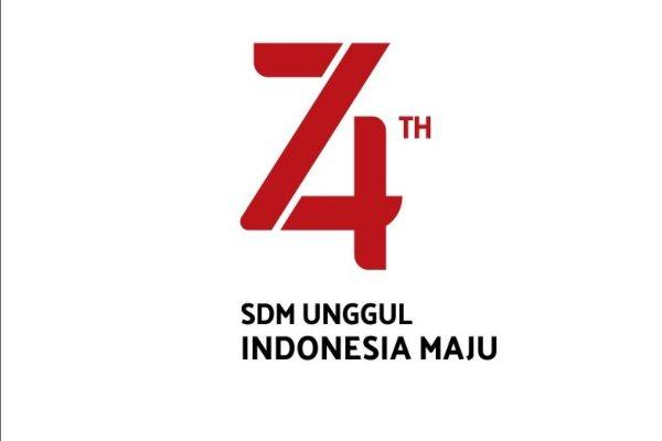 Sesneg Revisi Logo Dan Tema Hut Kemerdekaan Ke 74 Ri Ini Yang Terbaru Kabar24 Bisnis Com