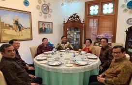 Bakwan dan Kelapa Muda Temani Pertemuan Megawati dan Prabowo