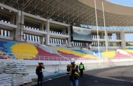 Progres Renovasi Stadion Manahan Capai 83 Persen