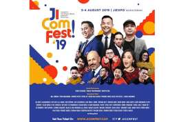 Bersiaplah Untuk Tertawa Bersama di Festival Komedi Terbesar, JICOMFEST 2019