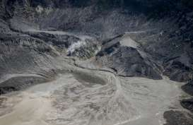 Erupsi Gunung Tangkuban Parahu, Kolom Abu Capai 200 Meter
