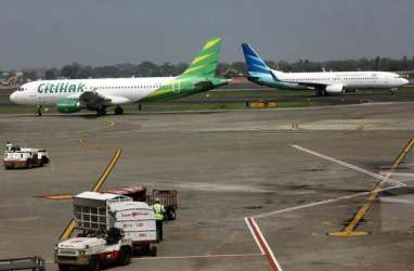 Garuda Indonesia Batalkan Seluruh Kontrak Inflight Connectivity dengan Mahata