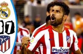 Real Madrid Dihajar Atletico Madrid 3-7, Ini Videonya