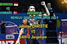 Jepang Terbuka: Jonathan Christie ke Final, Ganda…