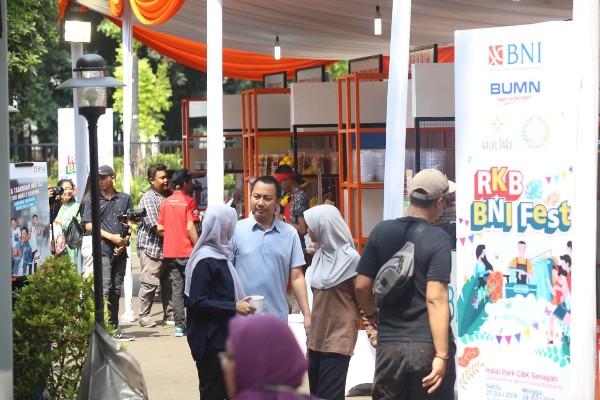 Rumah Kreatif BNI di Halal Park 2019 - istimewa