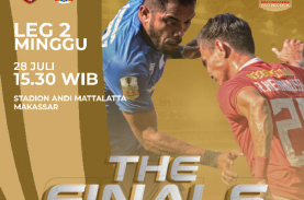 Final Leg 2 Piala Indonesia PSM vs Persija DITUNDA