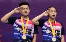 Asia Junior Championships 2019, Leo/Indah Juara Ganda Campuran