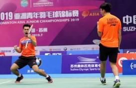 Leo/Daniel Juara, Indoneasia Raih Dua Gelar di Asia Junior Championships 2019