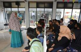 Sisi Lain Halal Park, Milenial Belajar Bisnis Pakai Gadget di RKB BNI Fest