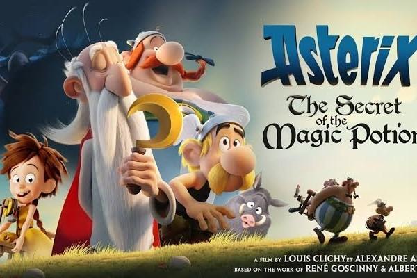 Cover Film Asterix: The Secret of The Magic Potion - Stumbli.com
