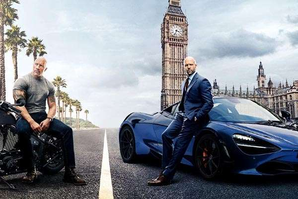 Foto Poster Film Fast & Furious: Hobbs and Shaw  -  UniversalStudiosHollywood