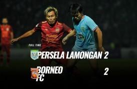 Persela vs Borneo FC Skor Akhir 2-2. Ini Videonya