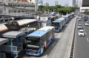 Bus Transjakarta di Pool PPD Ciputat Dipastikan Milik PT INKA