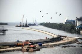 Tanggul Laut Raksasa Jakarta Dibangun 2021, Biayanya…