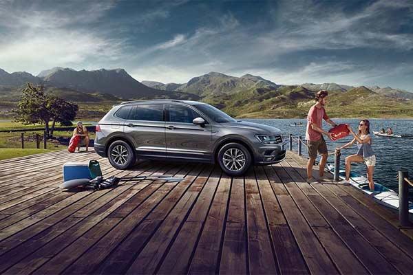 VW Tigual Allspace.  - VW