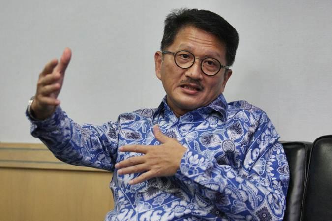 Presiden Direktur PT Indofarma (Persero) Tbk. Arief Pramuhanto. - Bisnis/Dedi Gunawan
