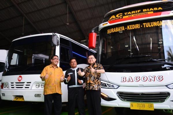 Peresmian fasilitas 2S (service and spare part) Mitsubishi Fuso di Malang, Jawa Timur. - KTB