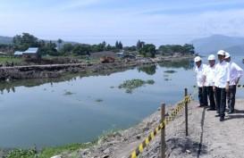 Presiden Jokowi Tinjau Rencana Pembangunan Jembatan Tano Ponggol di Samosir