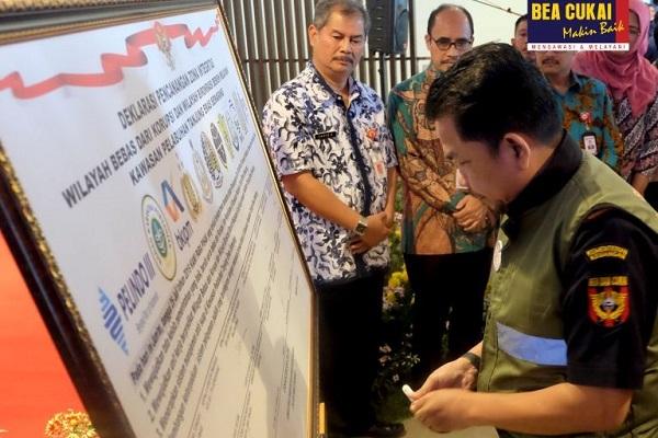 Bea Cukai Tanjung Emas Dukung Deklarasi Pencanangan WBK-WBBM