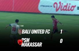 Bali United Tekuk PSM Makassar 1-0, Bali United Puncaki Klasemen. Ini Videonya