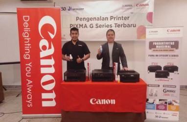 Canon Targetkan Jual 100 Unit Pixma G-Series di Semarang