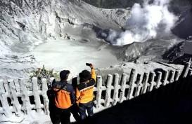 Kawasan Wisata Gunung Tangkuban Parahu Kembali Dibuka untuk Turis