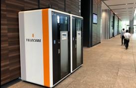Jepang Perkenalkan Coworking Space Seukuran Boks Telepon Umum