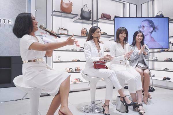 Beauty influencer Vanessa Mantofa, Titan Tyra, Karla Jasmina. - Istimewa