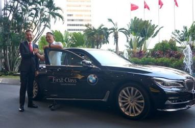 Sedan Mewah BMW untuk Penumpang Garuda Indonesia