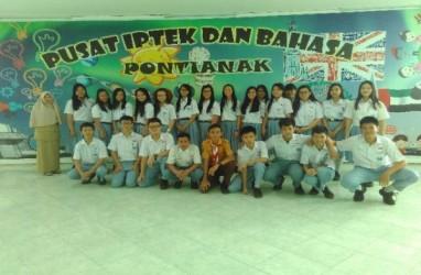 Pusat Iptek & Bahasa Pontianak Ramai Dikunjungi Pelajar