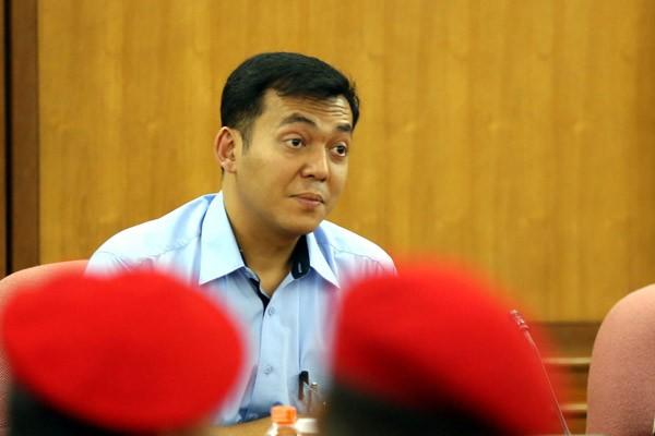 Foto Silmy Karim tahun 2015 saat menjabat Direktur Utama PT Pindad (Presero). Silmy Salim ditunjuk menjadi Direktur Utama PT Krakatau Steel (Persero) dalam RUPS Kamis (6/9/2018), sehingga harus meninggalkan jabatannya sebagai Direktur Utama PT Barata (Persero). - Bisnis/Rachman
