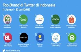 Ini 10 Brand Terdepan Indonesia Versi Twitter