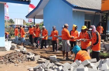 Program Padat Karya Kemenhub, 75 Orang Benahi Menara Suar di Banyuwangi