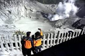 Gunung Tangkuban Parahu Erupsi: Sudah 13 Kali Erupsi…