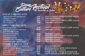 Dieng Culture Festival 2019 Dimulai, Ini Agenda Lengkapnya