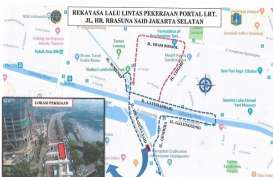 Berlaku 10 Bulan, Berikut Rekayasa Lalu Lintas di Rasuna Said Jaksel