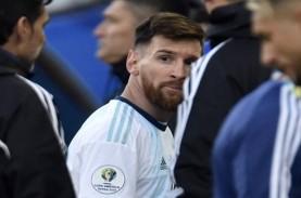 Didenda US$50 Ribu, Conmebol Juga Larang Messi Bela…