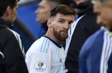 Didenda US$50 Ribu, Conmebol Juga Larang Messi Bela Timnas Argentina 3 Bulan