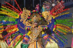 Foto-foto Indahnya Karnaval Kelas Dunia di Jember