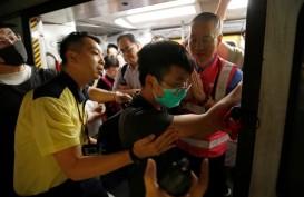 Aksi Mogok di Hong Kong Ganggu Transportasi Darat dan Udara