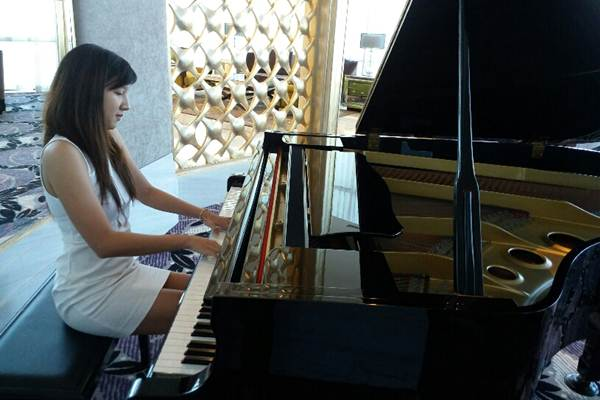 Pianis muda Nitya Primantari - JIBI/Peni Widarti