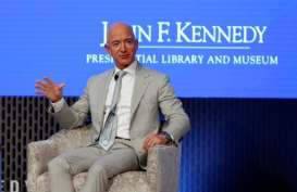 Jeff Bezos Jual Saham Amazon US$2,8 Miliar, Duitnya Buat Perusahaan Roket?