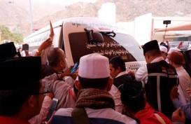 Foto-foto Jenazah Mbah Moen Menuju Pemandian di Mekkah