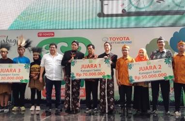 Toyota Eco Youth Kampanyekan Pelestarian Lingkungan kepada Generasi Muda