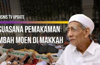 Ribuan Pelayat Antar Jenazah Mbah Moen di Makkah