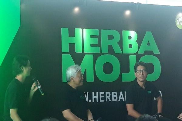 Peluncuran Herbamojo di Jakarta -