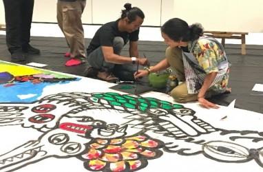 Sembilan Seniman Warnai Outsider Artpreneur 2019