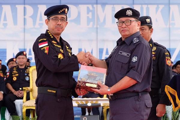 Bea Cukai Indonesia dan Malaysia Gelar Patroli Laut Terkoordinasi Amankan Perairan Selat Malaka