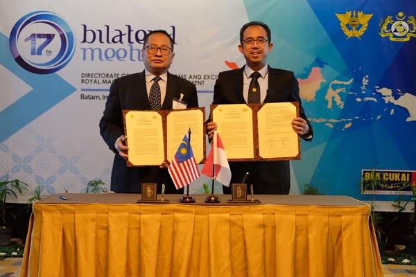 Bea Cukai Indonesia dan Malaysia Adakan Pertemuan Bilateral Bahas Isu Kepabeanan Terkini