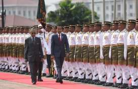 Temui Mahathir di Malaysia, Jokowi Disambut Upacara Resmi